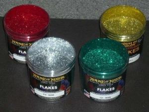 Ефектни бои- полиестерни частици