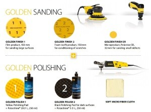 Golden Finish-система за полиране в две стъпки
