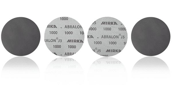 Mirka- абралон J3 и J5