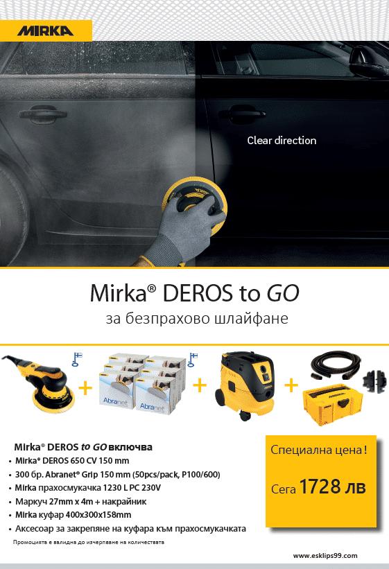 Mirka- Deros to go